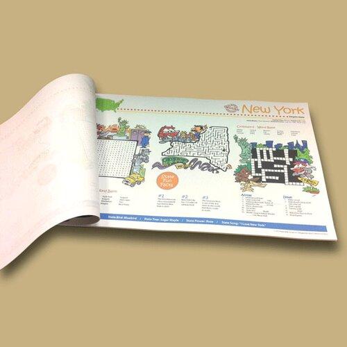 Universal Map New York State Fun Map Pad