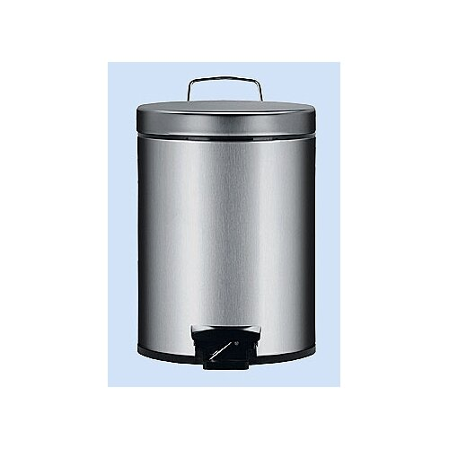 Brabantia 1.32-Gal. Fingerprint Proof Pedal Bin