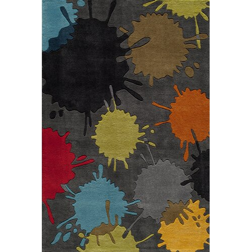 Momeni Lil' Mo Lil Mo Hipster Grey Sport Kids Rug