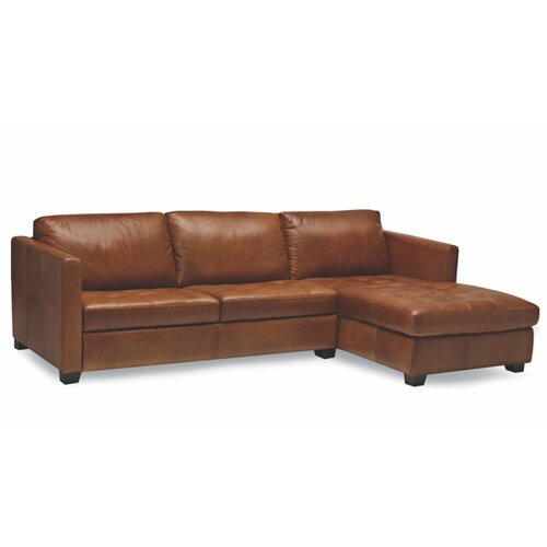 Sofas to Go Lafayette Leather Sectional