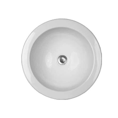 Advantage Series Fairlawn Self Rimming or Undermount Round Bathroom Sink