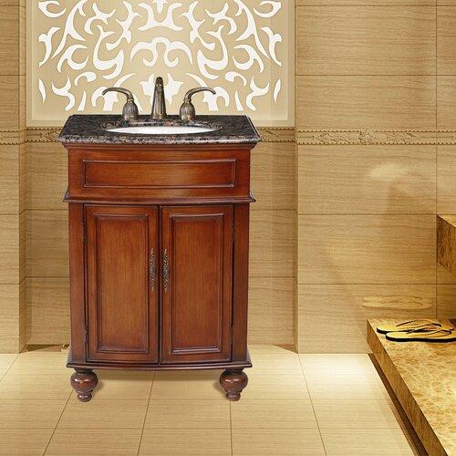 "Stufurhome Prince 26"" Bathroom Vanity Set"