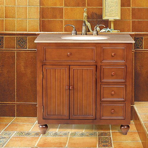 "Stufurhome Mary 36"" Bathroom Vanity Set"