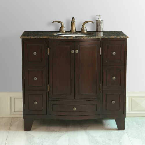 "Stufurhome Grand Cheswick 40"" Bathroom Vanity Set"