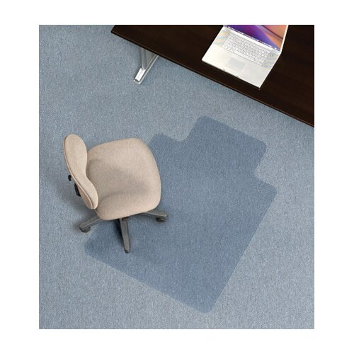 ES Robbins Corporation Economy Low Pile Carpet Straight Edge Chair Mat