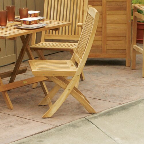 Jewels of Java Harbor Folding Dining Side Chair
