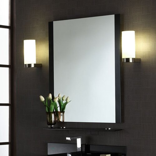 Xylem Metal C Mirror with Shelf