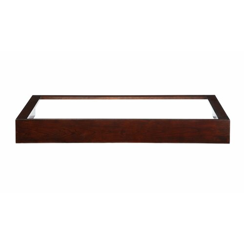 """Xylem Blox 48"""" Wall Console Vanity Base with Open Top"""