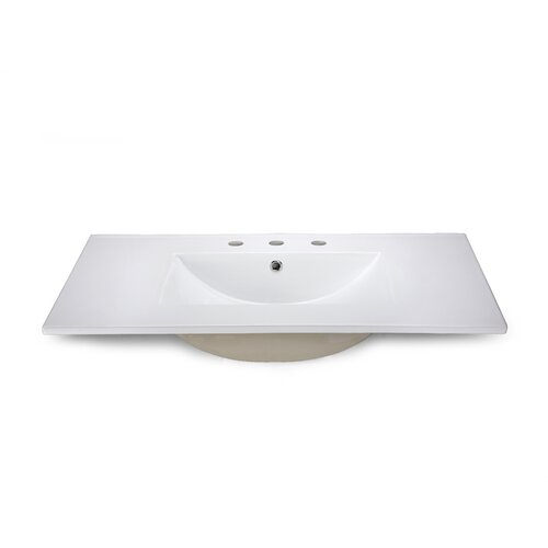 """Xylem 31"""" Vanity Top with Square Bowl"""