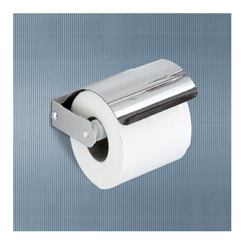Gedy by Nameeks Ascot Toilet Paper Holder with Cover in Chrome