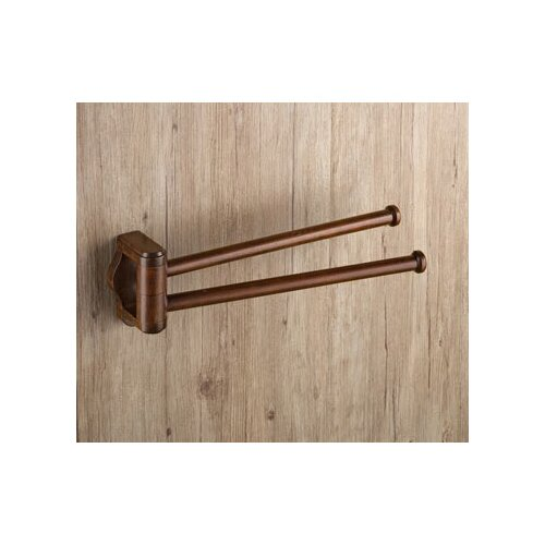 """Gedy by Nameeks Montana 13.7"""" Wall Mounted Jointed Towel Bar"""