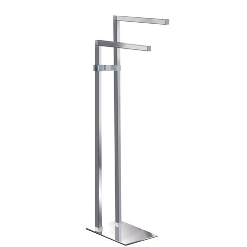 Imax Free Standing Iron Towel Holder Reviews Wayfair