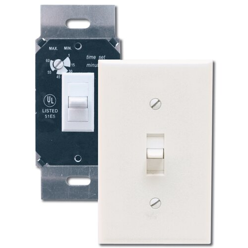 Air King Delay Timer Switch in White