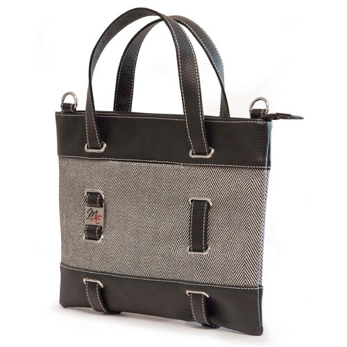 Mobile Edge Herringbone Tote Bag