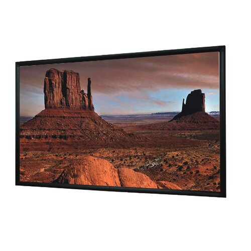 Mustang Matte White Fixed Frame Projection Screen