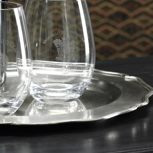"""Zodax Scalloped Edge 12.75"""" Charger Plate"""