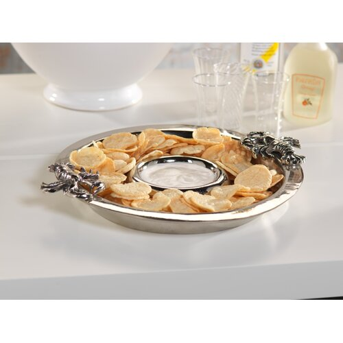 Zodax Lobster Chip and Dip Serving Dish