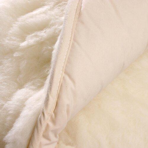 Natura Reversible Wool on Top Mattress Pad