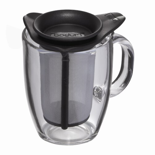 Bodum Pavina Yo Yo 12 oz. Tea Mug and Strainer