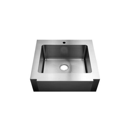 "Julien Classic 30"" x 26.25"" Farmhouse Single Bowl Kitchen Sink"