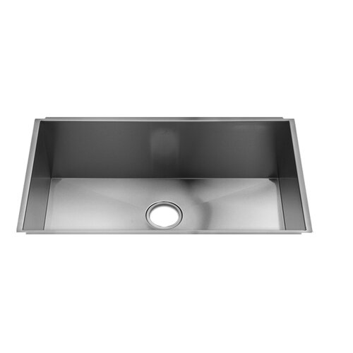"Julien UrbanEdge 31"" x 18.5"" Undermount Single Bowl Kitchen Sink"