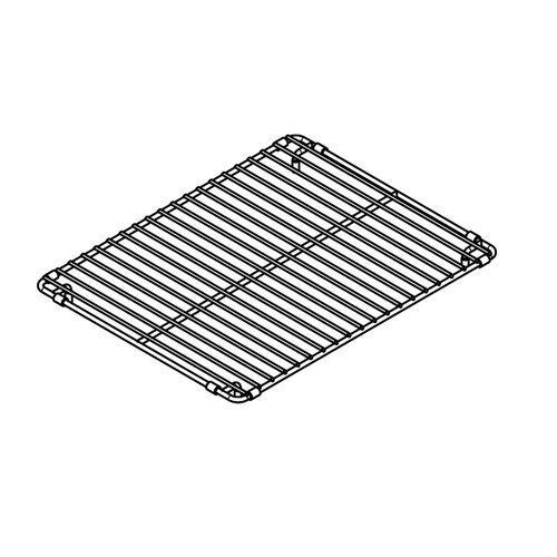 "Julien 11"" x 14"" Electropolished Grid for 12''x15'' Sink Bowl"