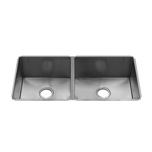 "Julien J7 29"" x 19.5"" Undermount Double Bowl Kitchen Sink"
