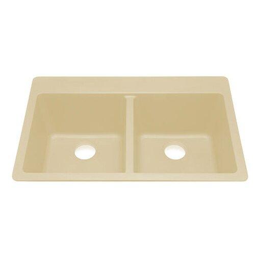 Julien Q100 Topmount Double Bowl Kitchen Sink