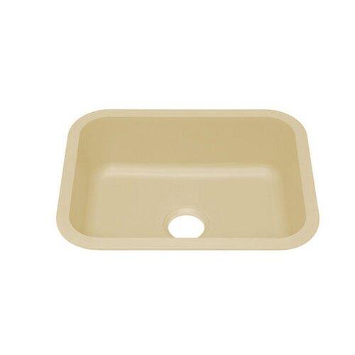 """Julien Q110 23.13"""" x 18.13"""" Undermount Single Bowl Kitchen Sink"""