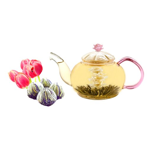 Tea Beyond Juliet 0.63-qt. Premium Blooming Jasmine Tea Set