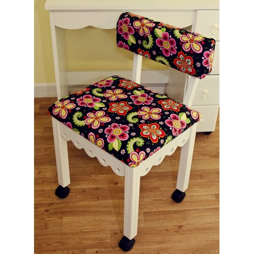 Arrow Sewing Chair with Underseat Storage