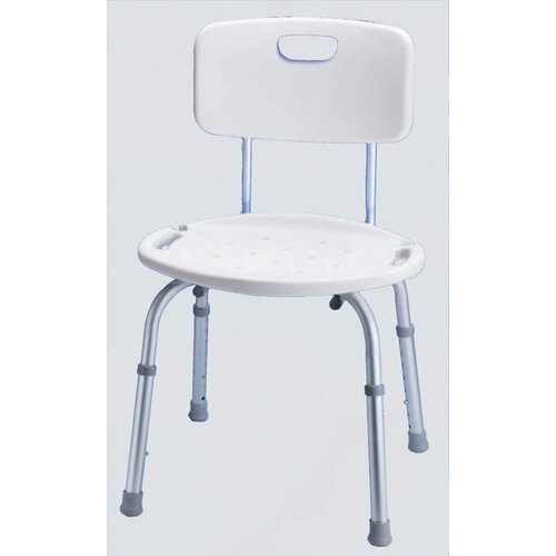 Carex Bath and Shower Seat with Adjustable Back