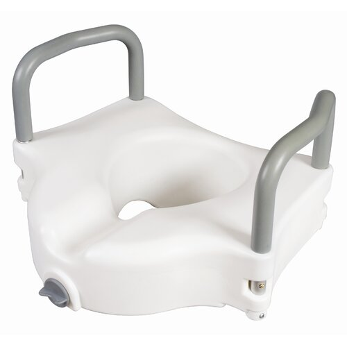 Carex Raised Toilet Seat with Arms