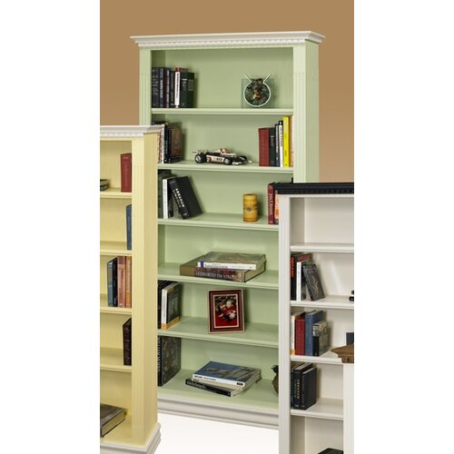 A&E Wood Designs Hampton Bookcase