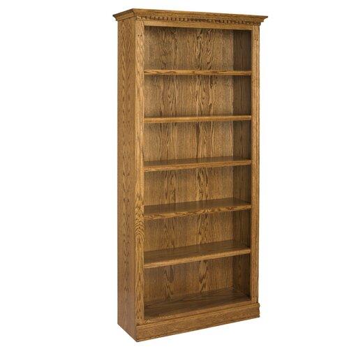 """A&E Wood Designs Britania 84"""" Bookcase"""