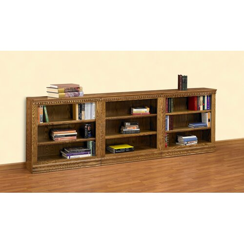 "A&E Wood Designs Britania 36"" Bookcase"