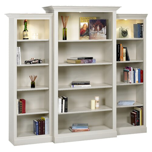 "A&E Wood Designs Hampton 85"" Bookcase"