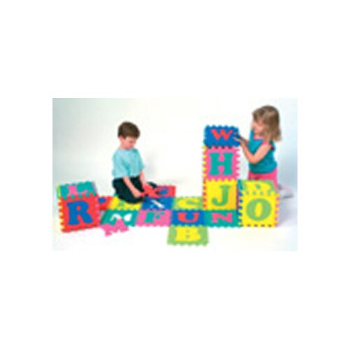 Chenille Kraft Company Wonderfoam Alphabet Puzzle 52 Pcs