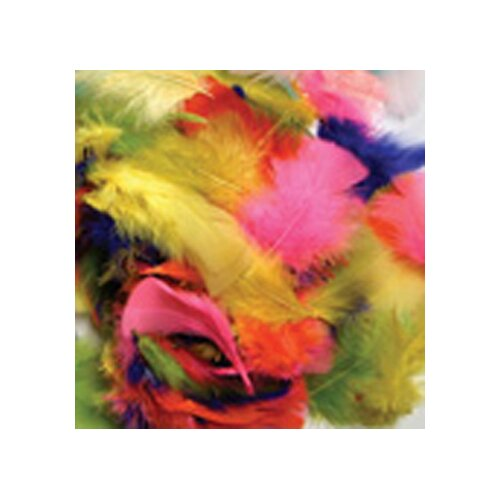 Chenille Kraft Company Feathers Bright Hues