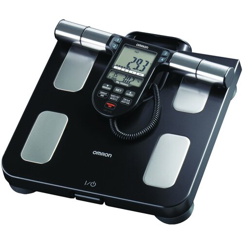 Omron Healthcare Full-Body Sensor Composition Monitor and Scale in Black