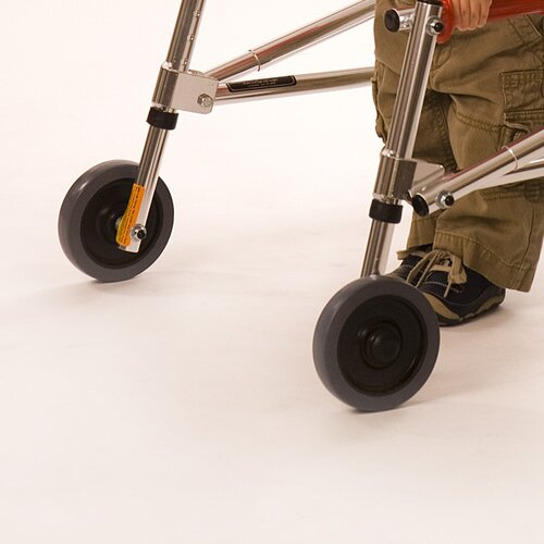 Kaye Products Small Child's Walker Front Leg Wheel