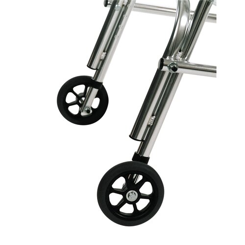Kaye Products Adolescent's Walker Rear Legs Silent Wheel with Built-In Seat