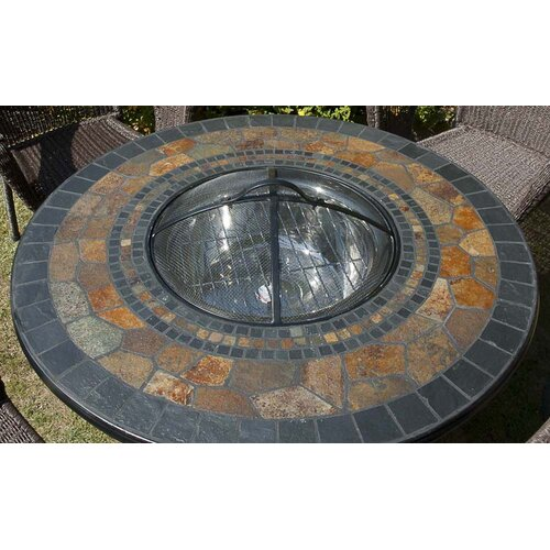 Europa Leisure Durango Round Stone Dining Table