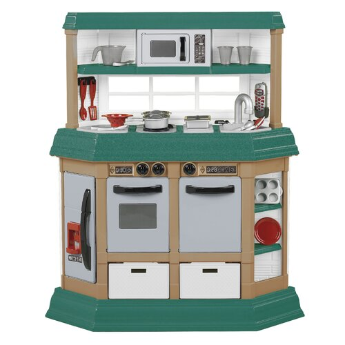 American Plastic Toys 22 Piece Kitchen Set