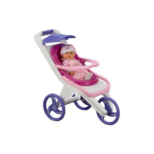 American Plastic Toys 3 in 1 Stroller