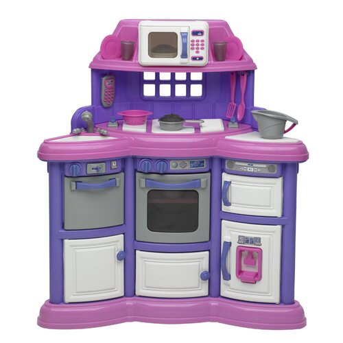 American Plastic Toys 22 Piece Homestyle Kitchen Set