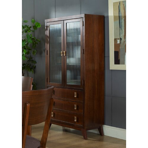 Somerton Dwelling Perspective Curio China Cabinet