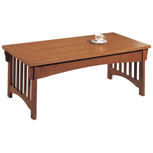 Anthony California Mission Style 3 Piece Coffee Table Set Reviews Wayfair