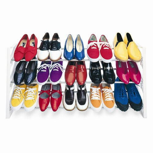 Lynk 15 Pair Convertible Shoe Rack