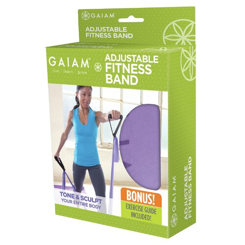 Gaiam Adjustable Fitness Band